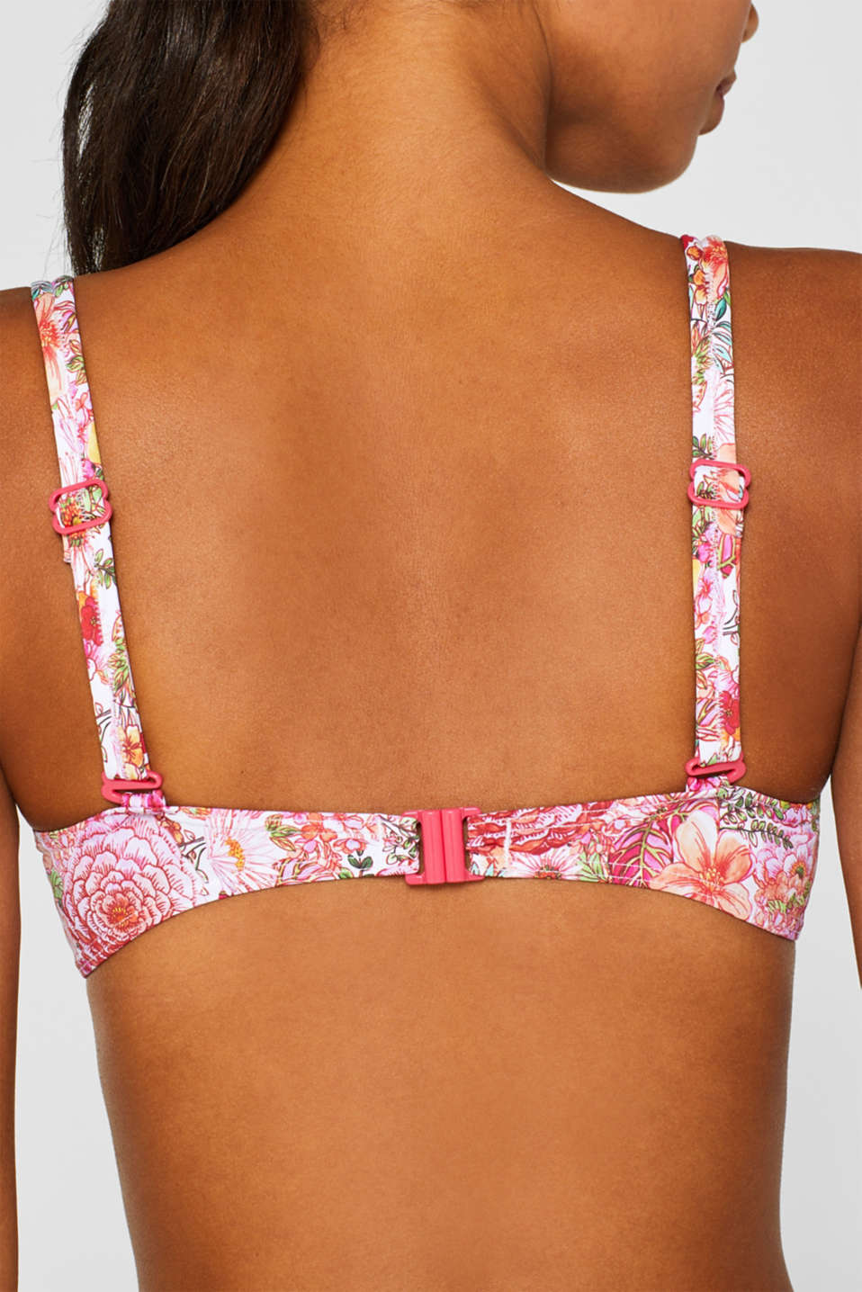 Beach Tops with wire, PINK FUCHSIA, detail image number 4