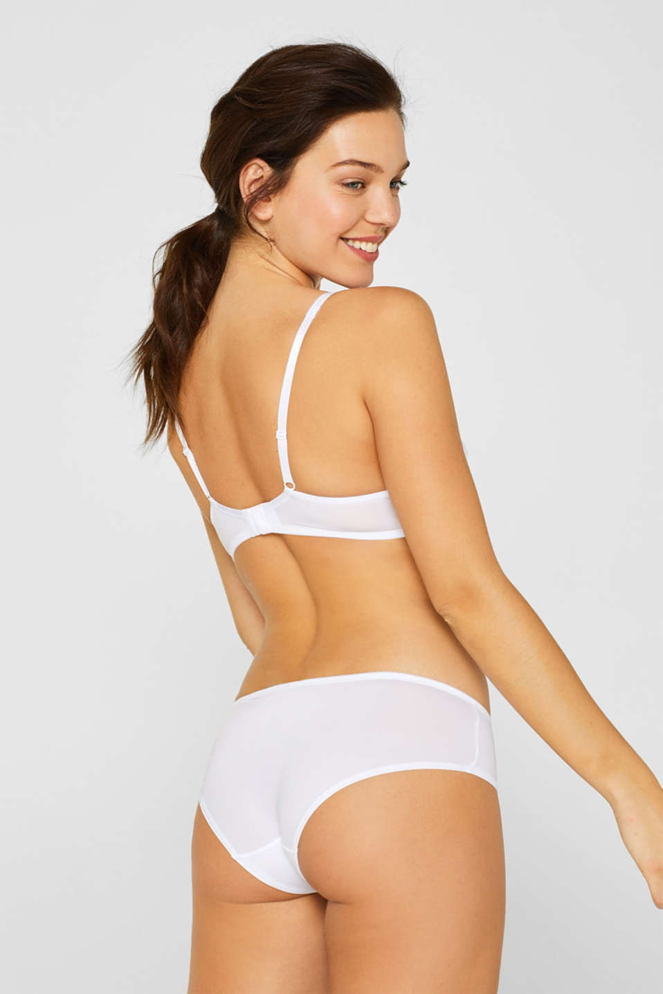 Bottoms, WHITE, detail image number 2