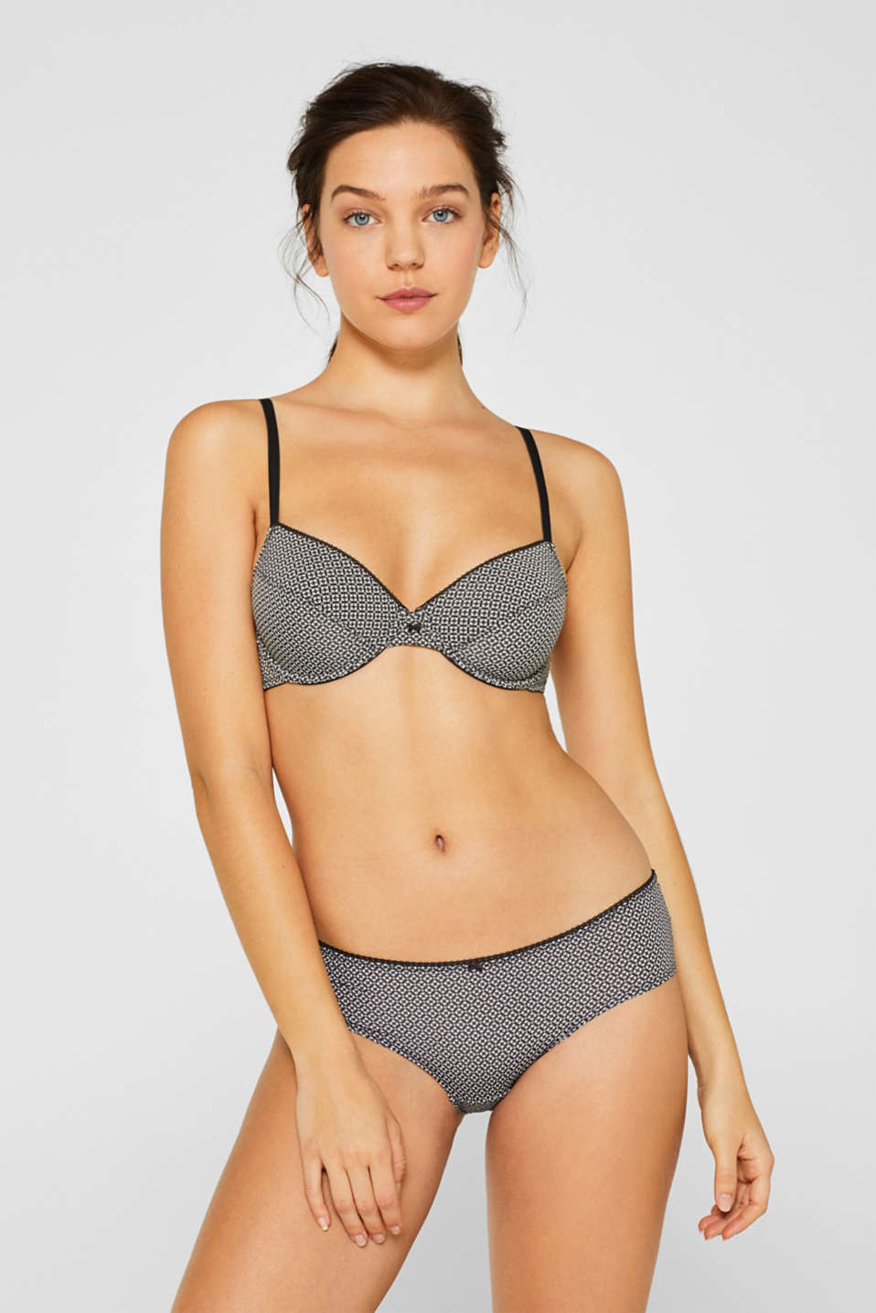 Bras with wire, GREY, detail image number 0