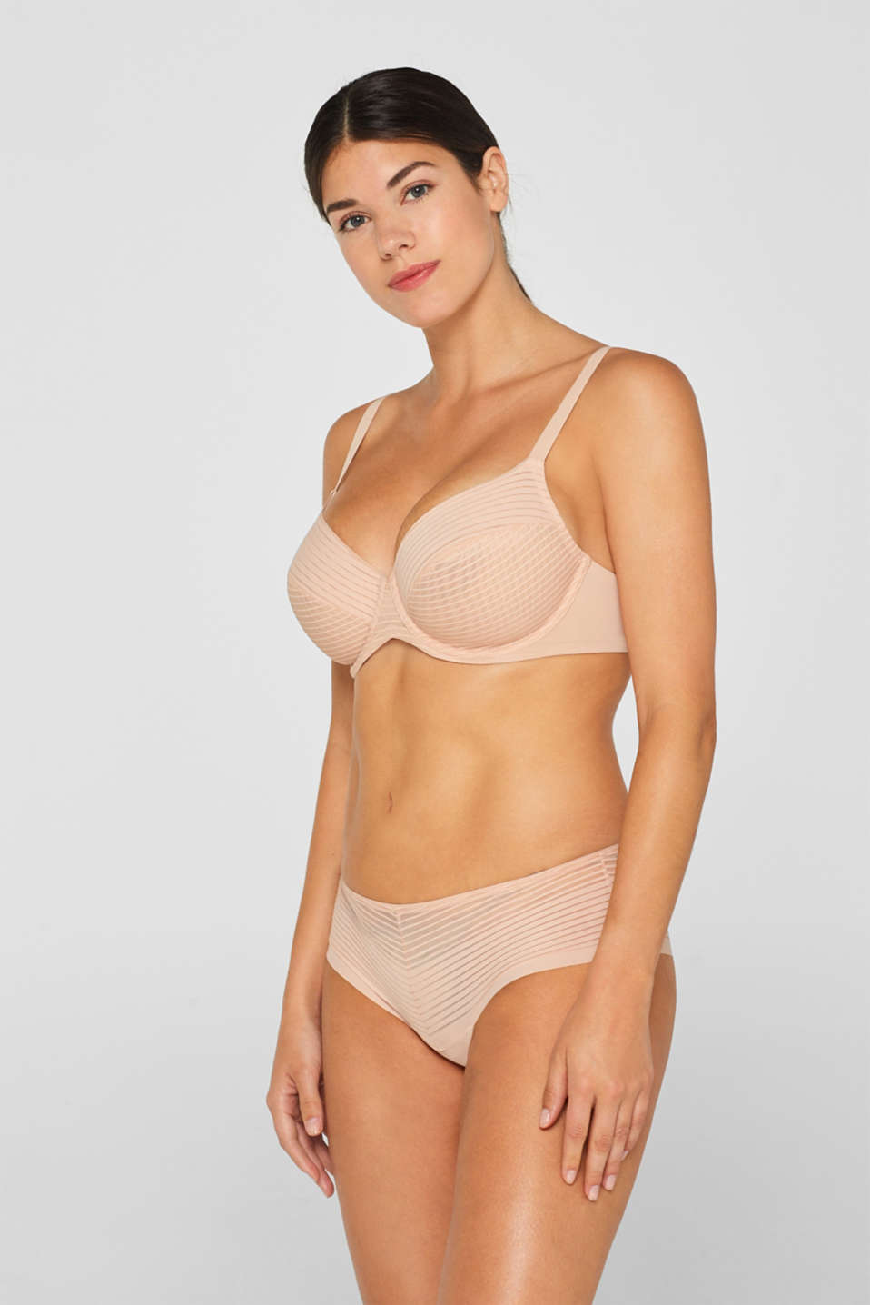 Esprit - NYE unpadded underwire bra for large cup sizes