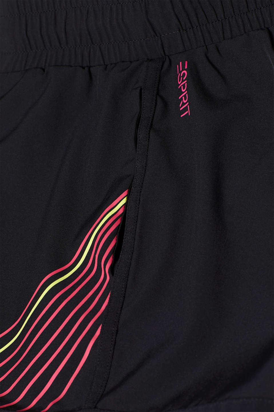 Shorts woven, BLACK, detail image number 3