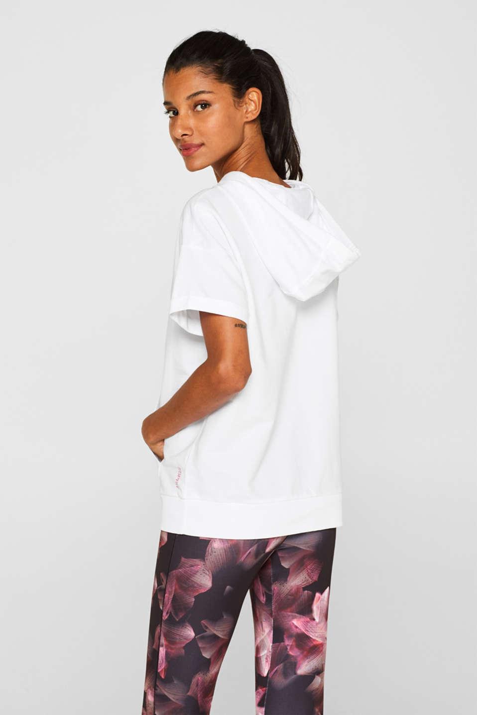 Sweatshirts, WHITE, detail image number 2
