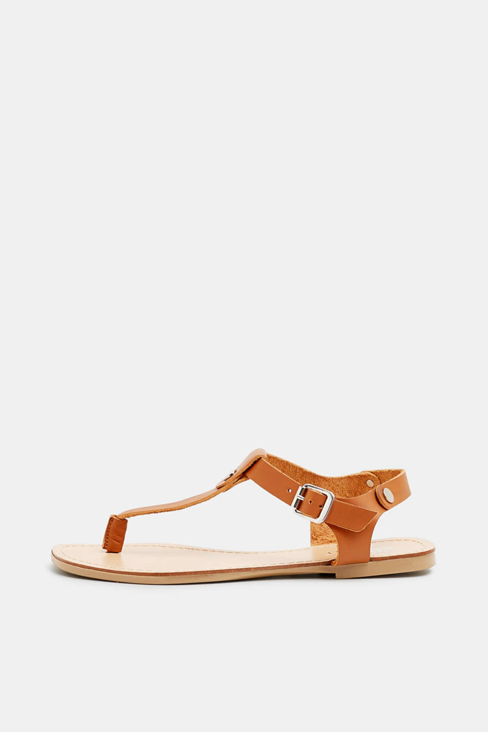 Esprit - Leather thong sandals