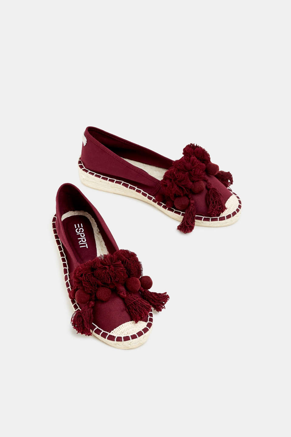 Casual Shoes textile, PLUM RED, detail image number 1