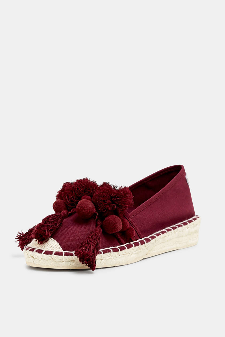 Casual Shoes textile, PLUM RED, detail image number 2