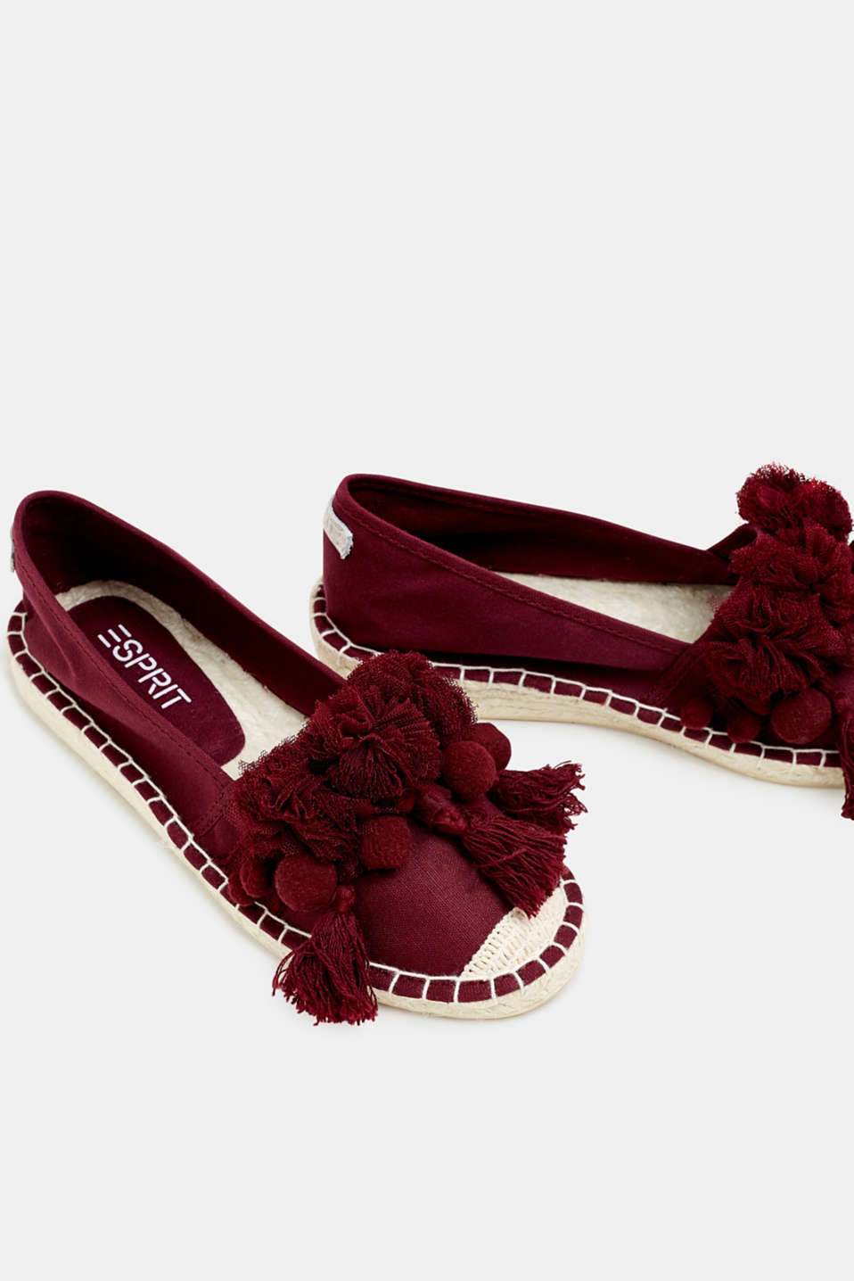 Casual Shoes textile, PLUM RED, detail image number 4