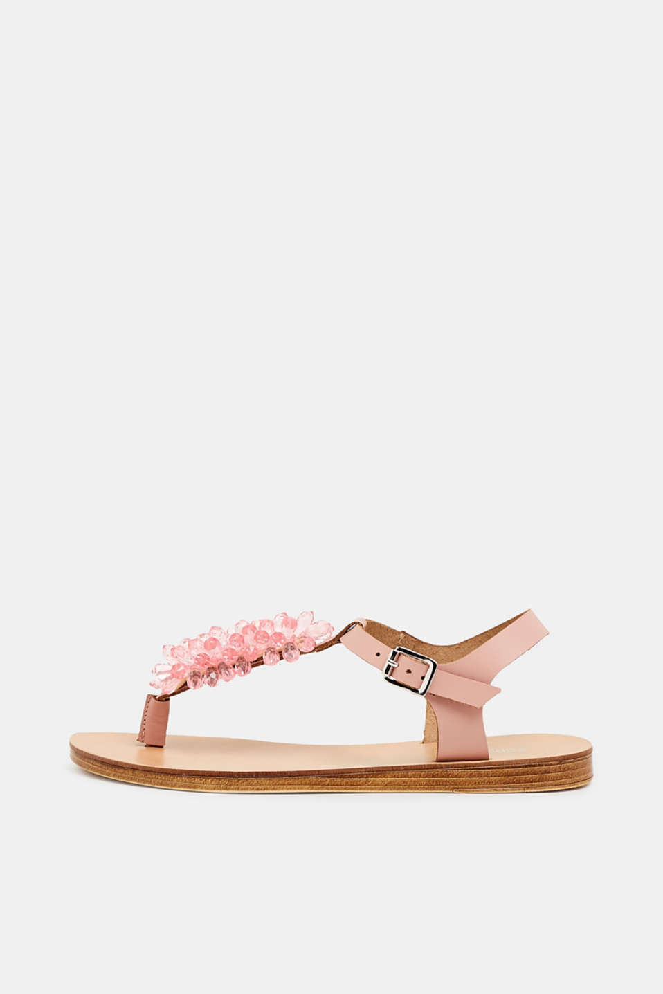 Esprit - Toe-post sandals with facet-cut stones