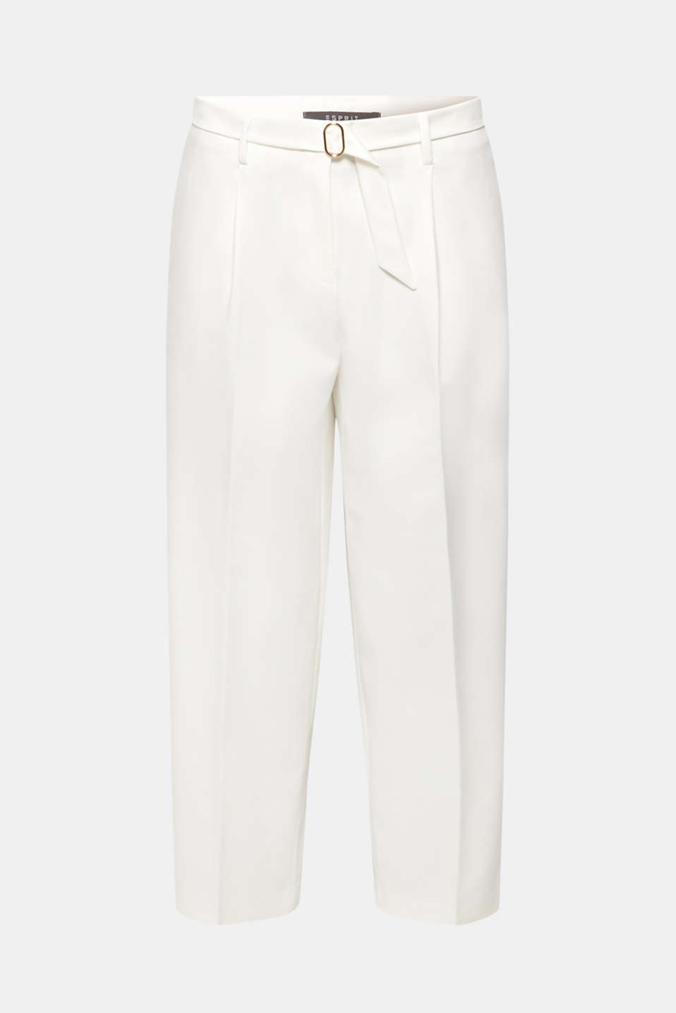 Pants woven, OFF WHITE, detail image number 7