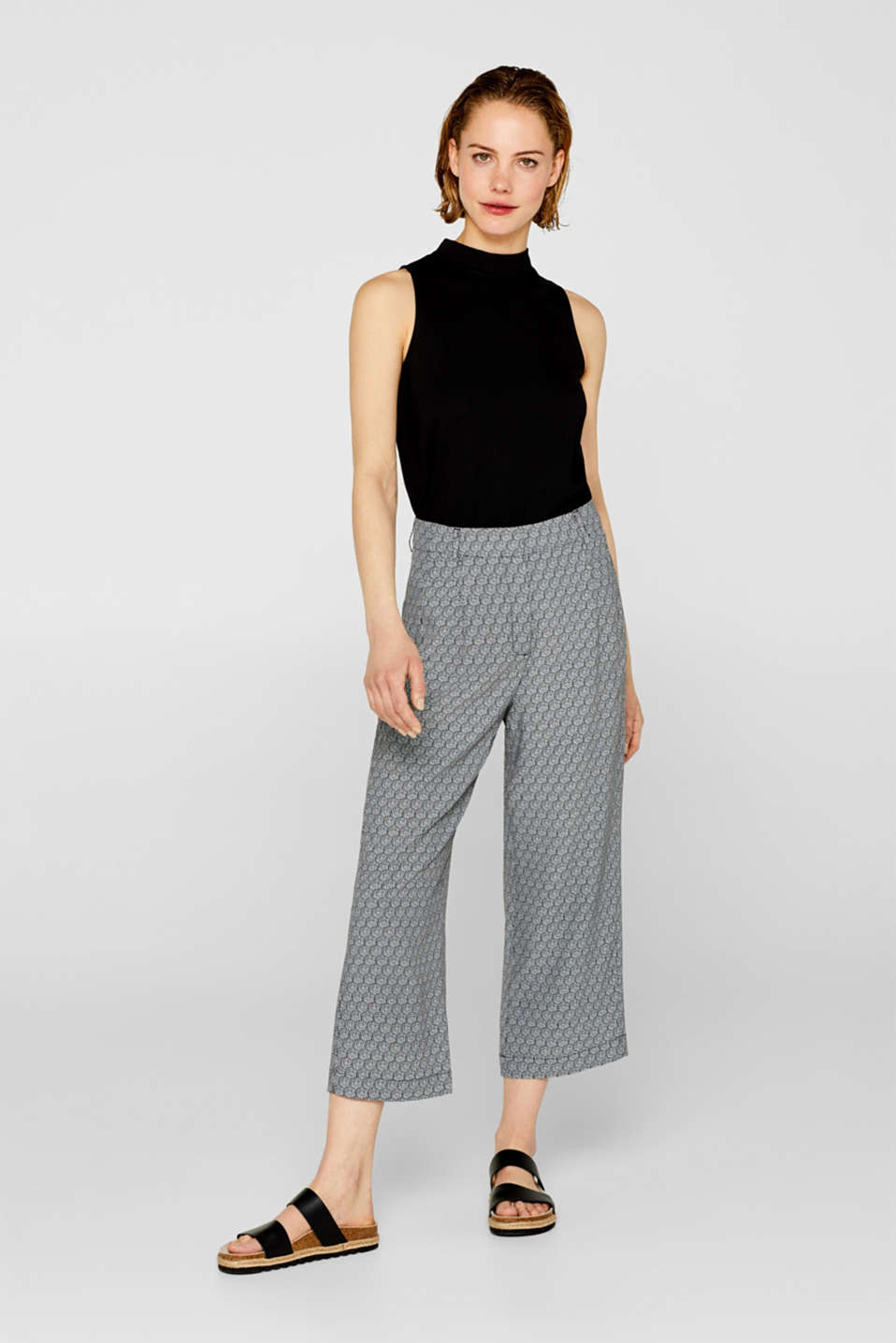 Print culottes with LENZING™ ECOVERO™