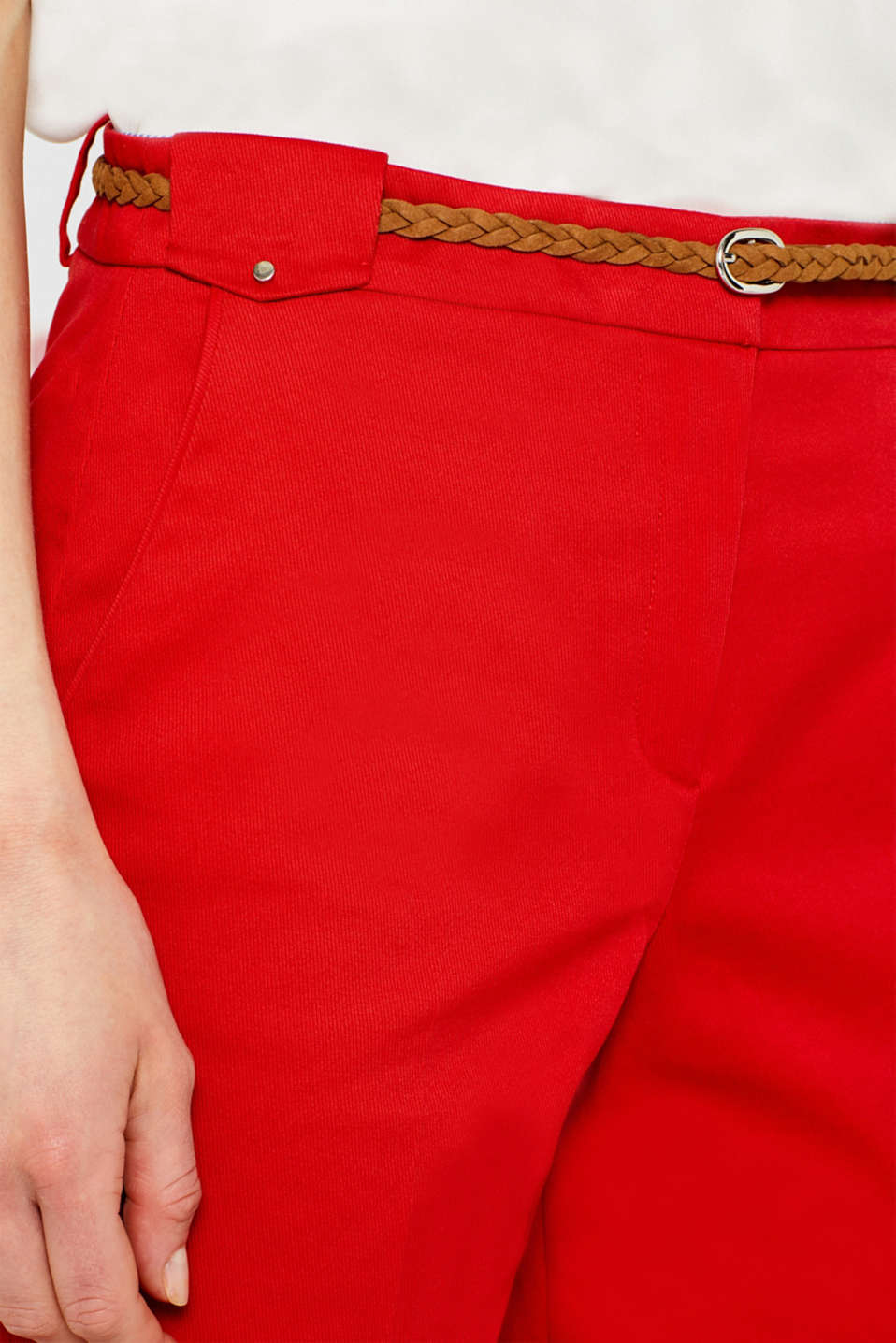 Shorts woven, ORANGE RED, detail image number 2