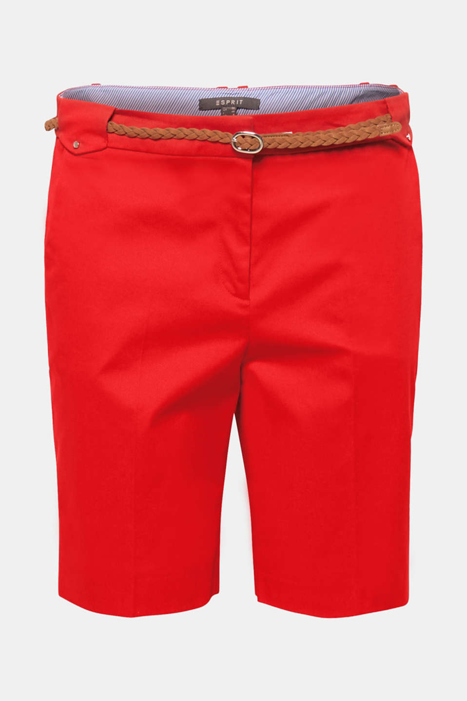 Shorts woven, ORANGE RED, detail image number 7