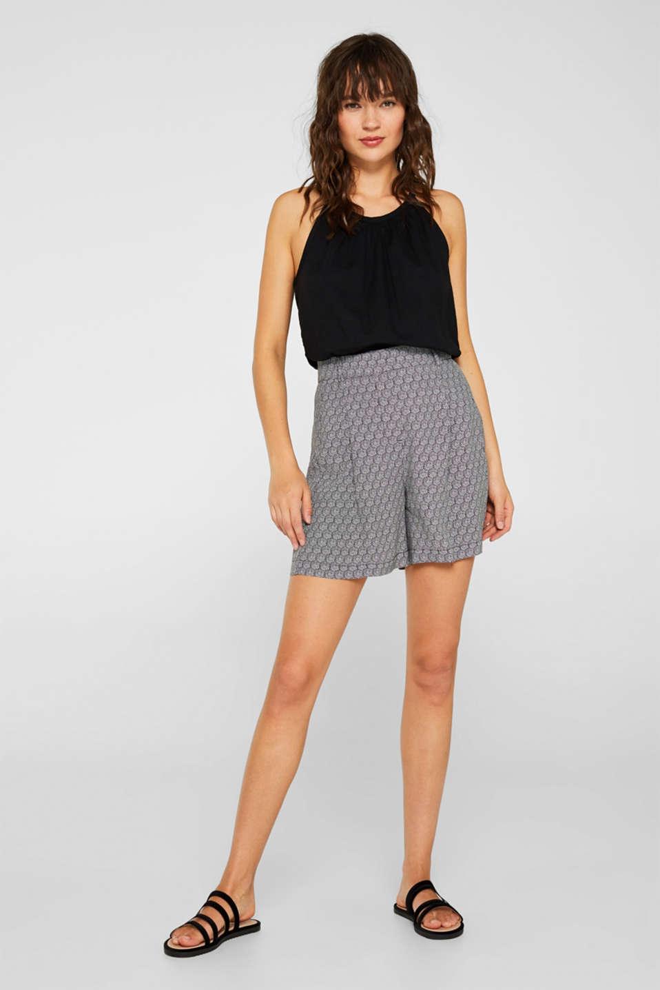Shorts woven, BLACK, detail image number 1