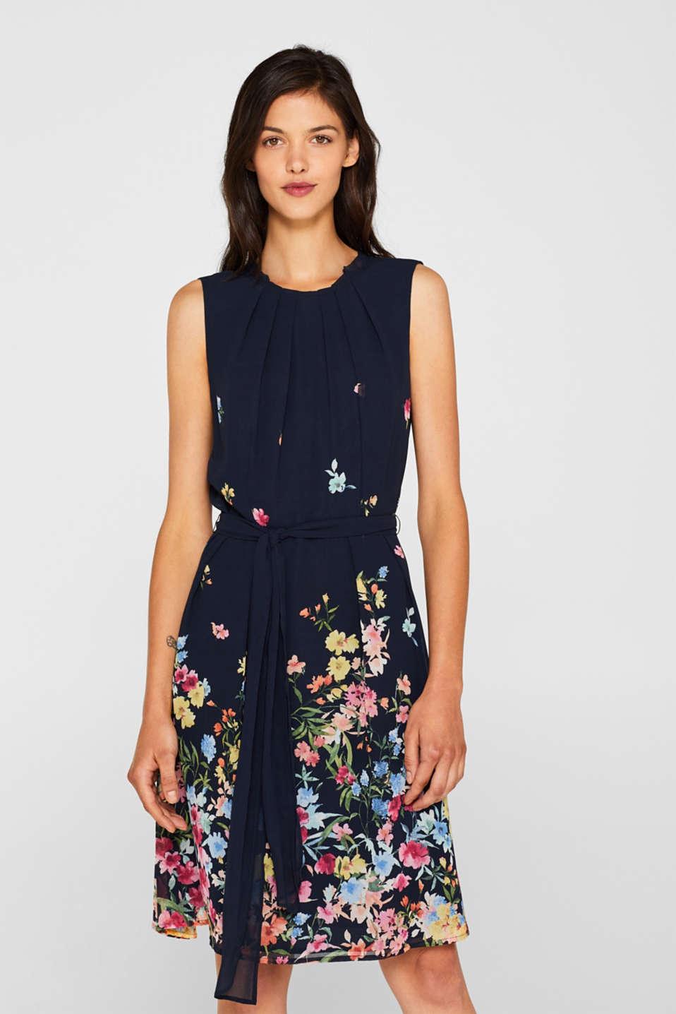 3105213140510 Esprit : Robe en crêpe à imprimé fleuri à acheter sur la Boutique en ...