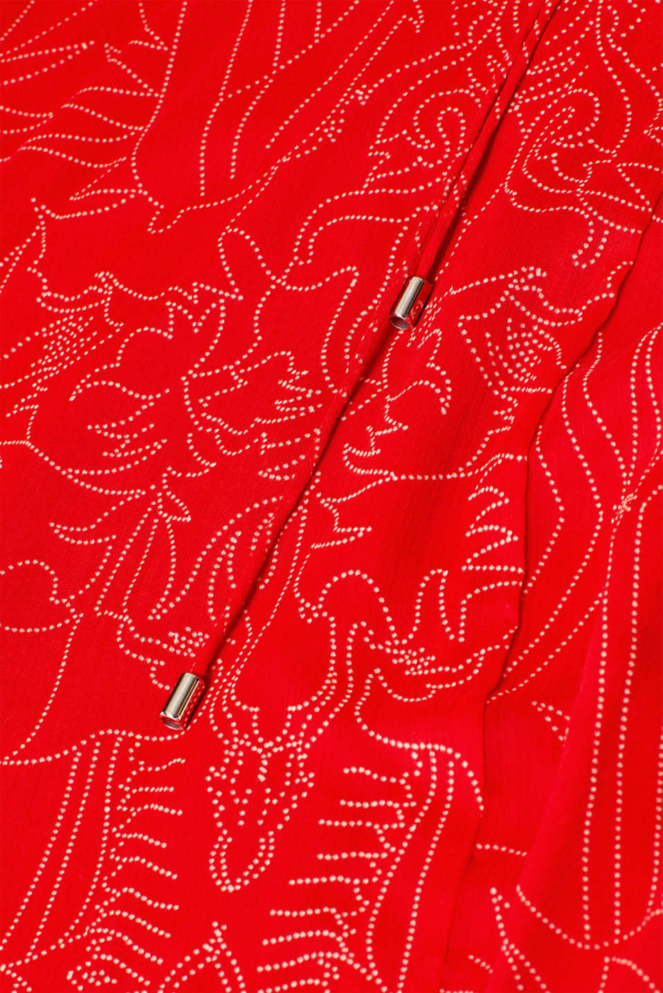Dresses light woven, ORANGE RED, detail image number 4