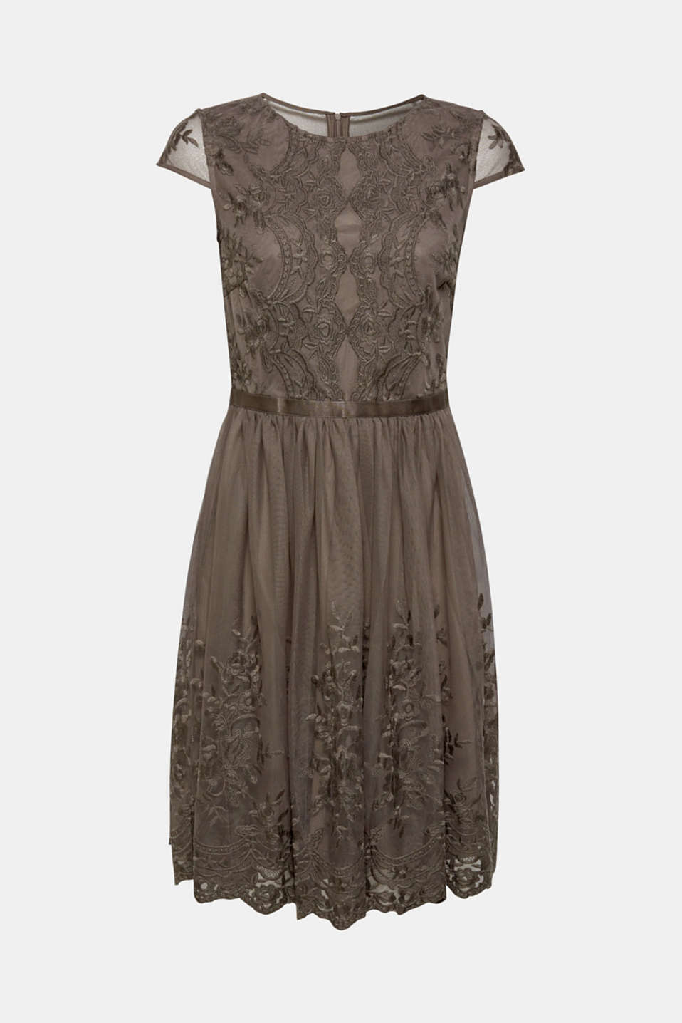 Dresses knitted, TAUPE, detail image number 5