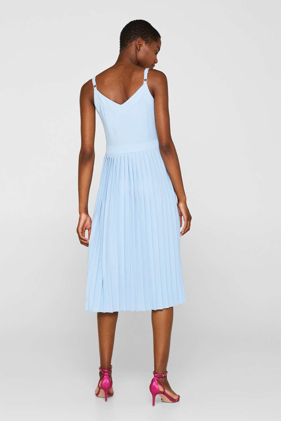 Dresses light woven, LIGHT BLUE, detail image number 2