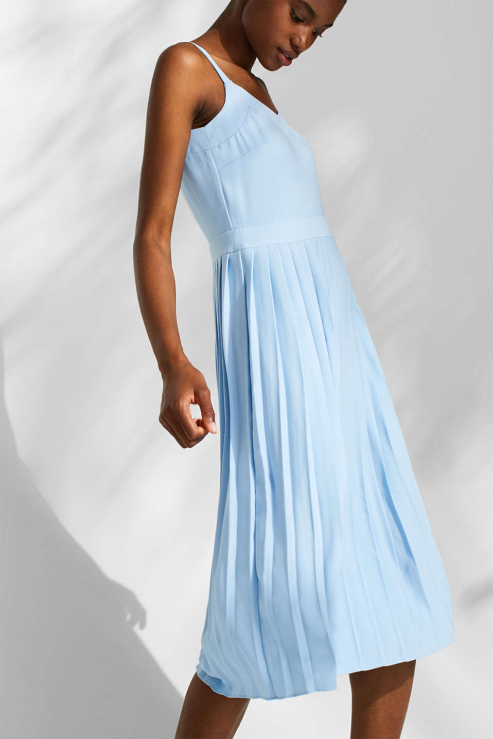 Dresses light woven, LIGHT BLUE, detail image number 3