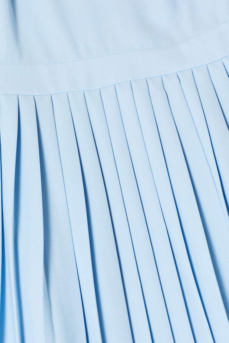 Dresses light woven, LIGHT BLUE, detail image number 4