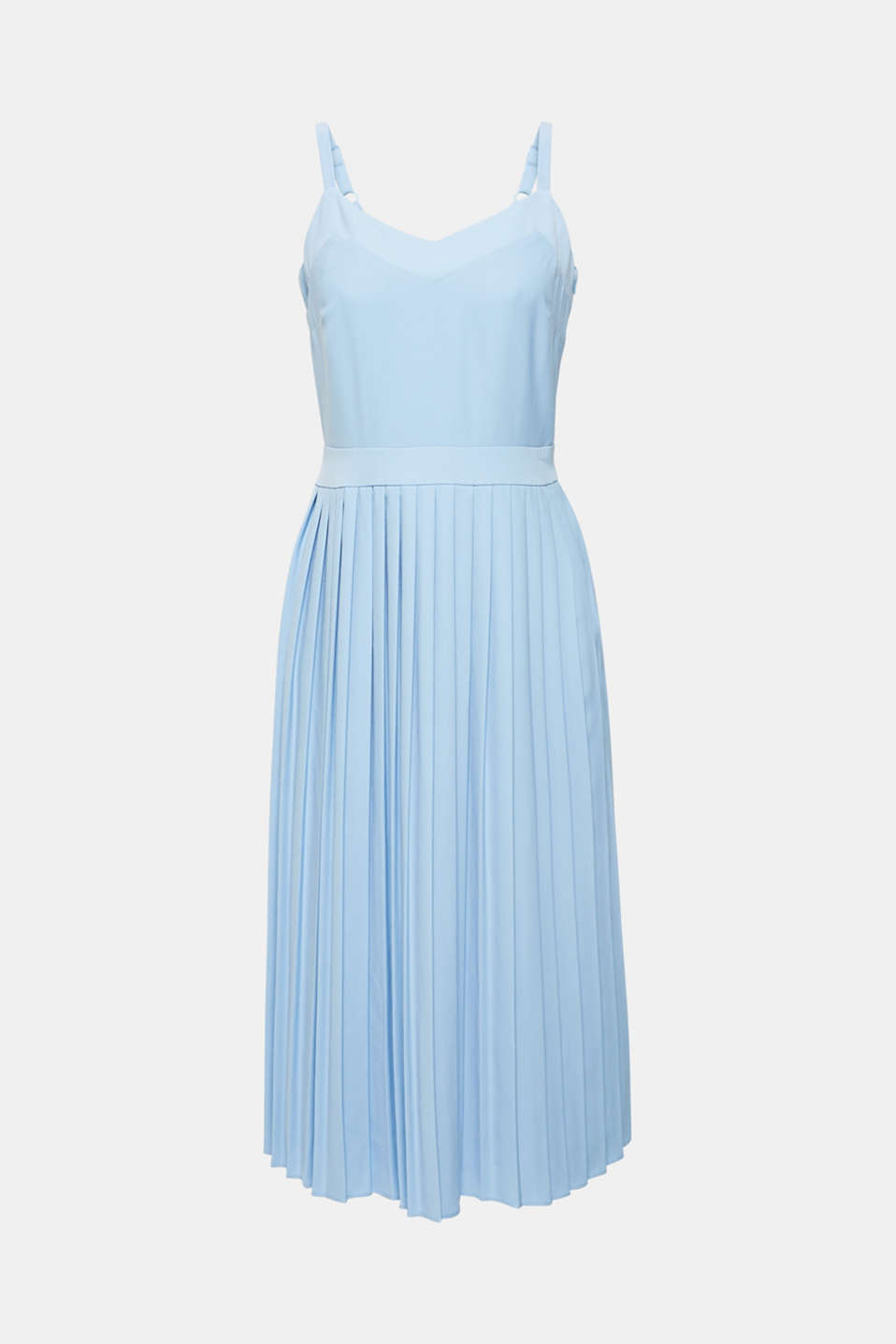 Dresses light woven, LIGHT BLUE, detail image number 5