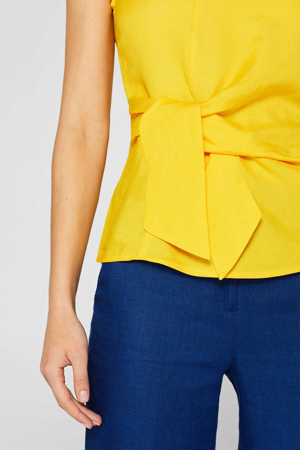 Blouses woven, YELLOW, detail image number 2