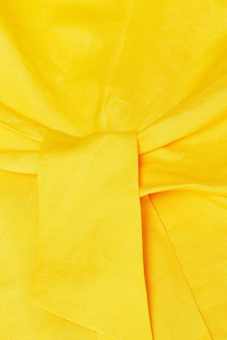 Blouses woven, YELLOW, detail image number 4