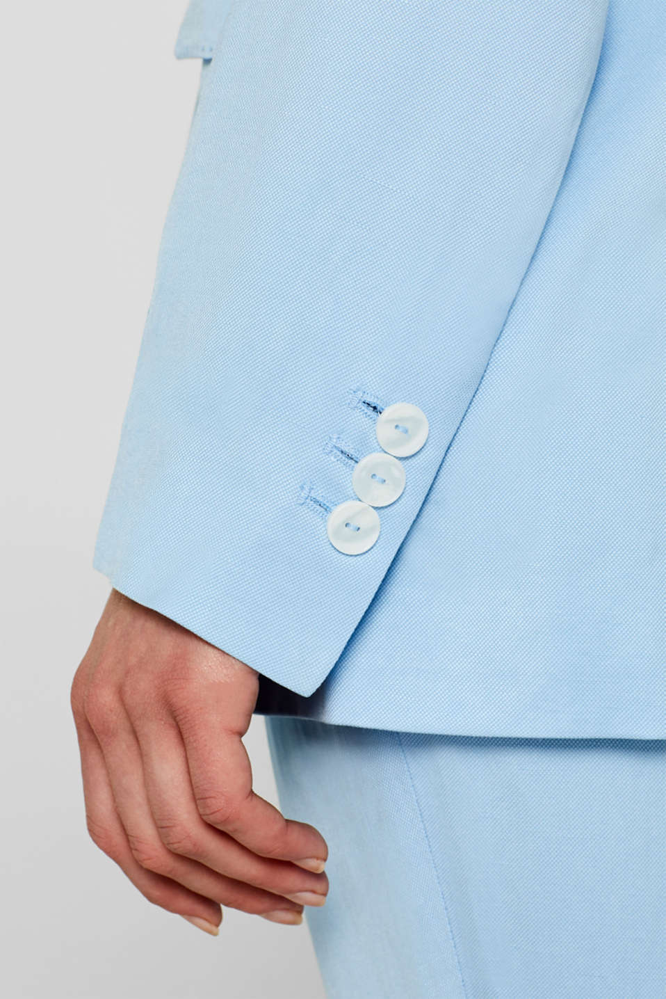 Blazers woven, LIGHT BLUE, detail image number 6