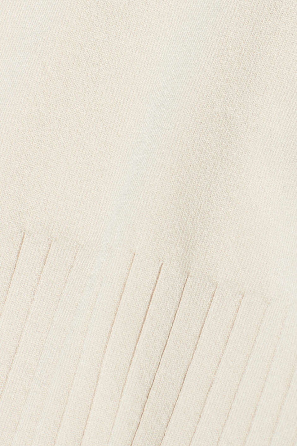 Sweaters, LIGHT BEIGE, detail image number 4