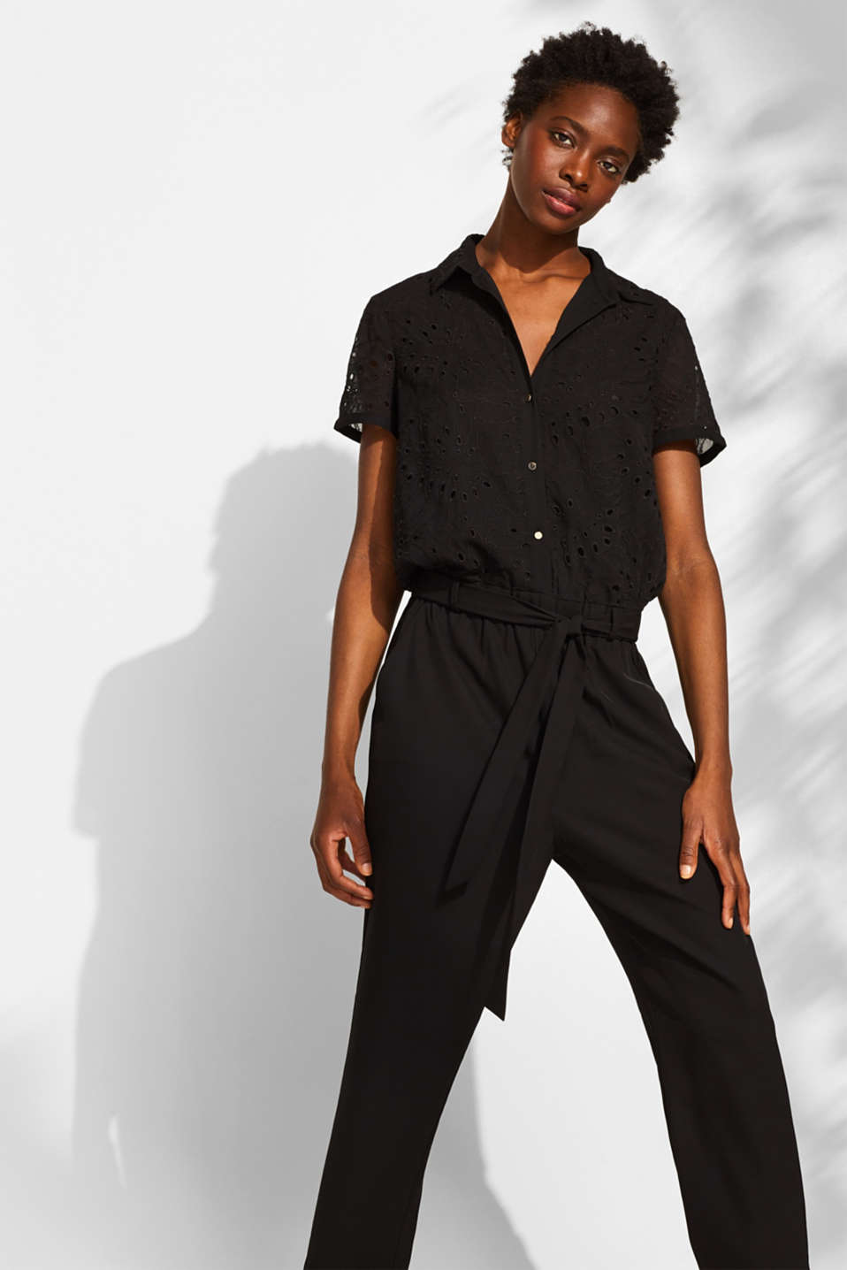Overalls woven, BLACK, detail image number 5