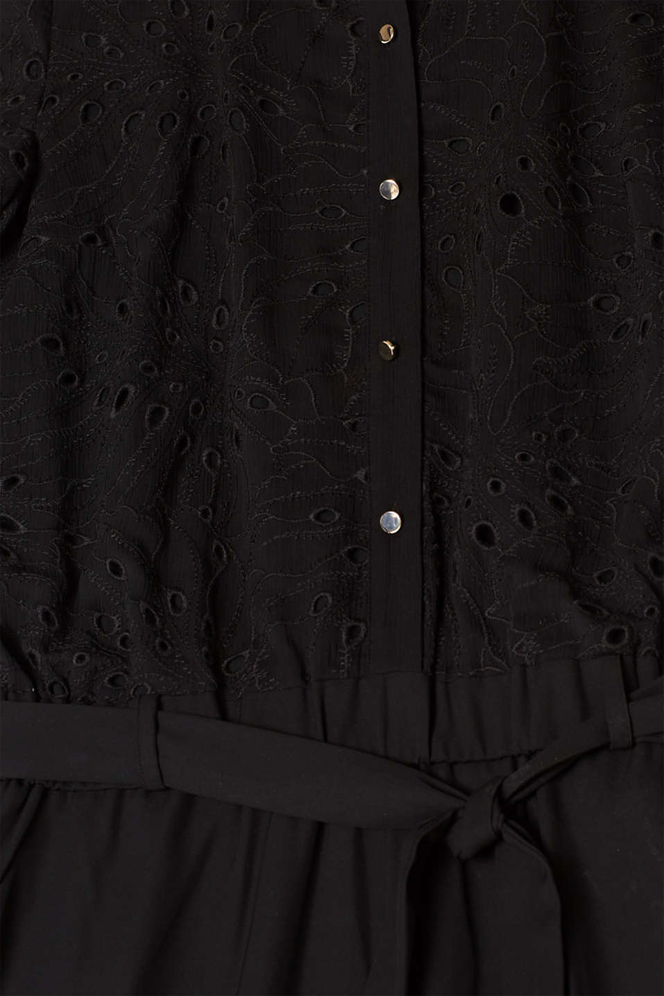 Overalls woven, BLACK, detail image number 4