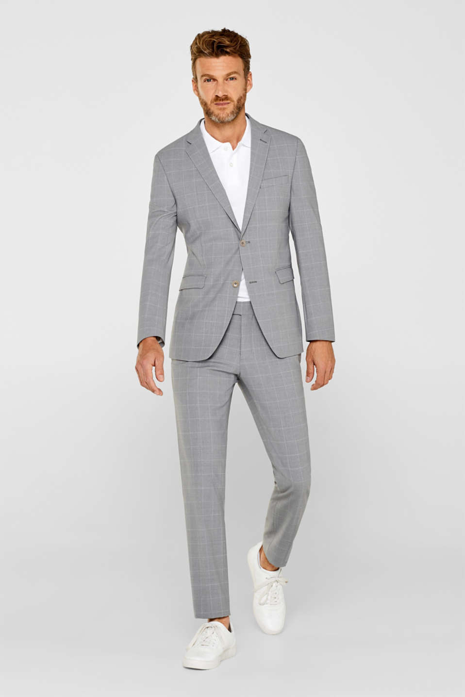Blazers suit, LIGHT GREY, detail image number 1