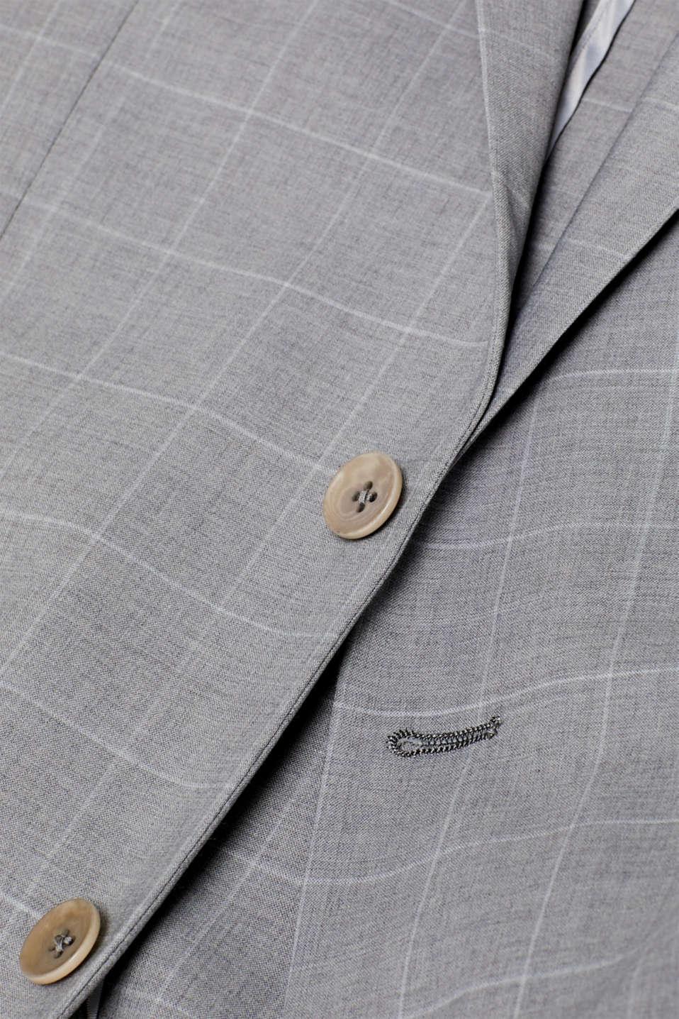 Blazers suit, LIGHT GREY, detail image number 4
