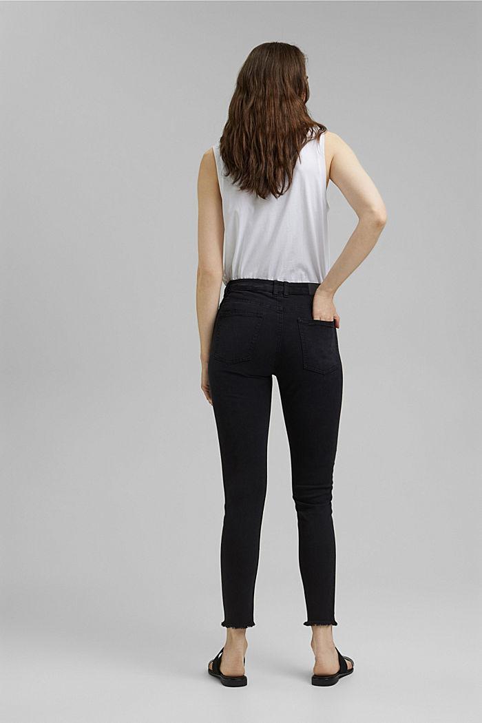 Knöchellange Stretch-Hose, BLACK, detail image number 3