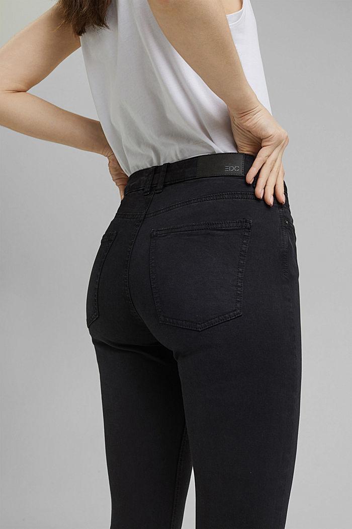 Knöchellange Stretch-Hose, BLACK, detail image number 5