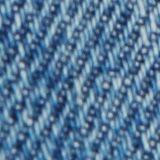Shorts in denim con dettagli usati, 100% cotone, BLUE MEDIUM WASHED, swatch