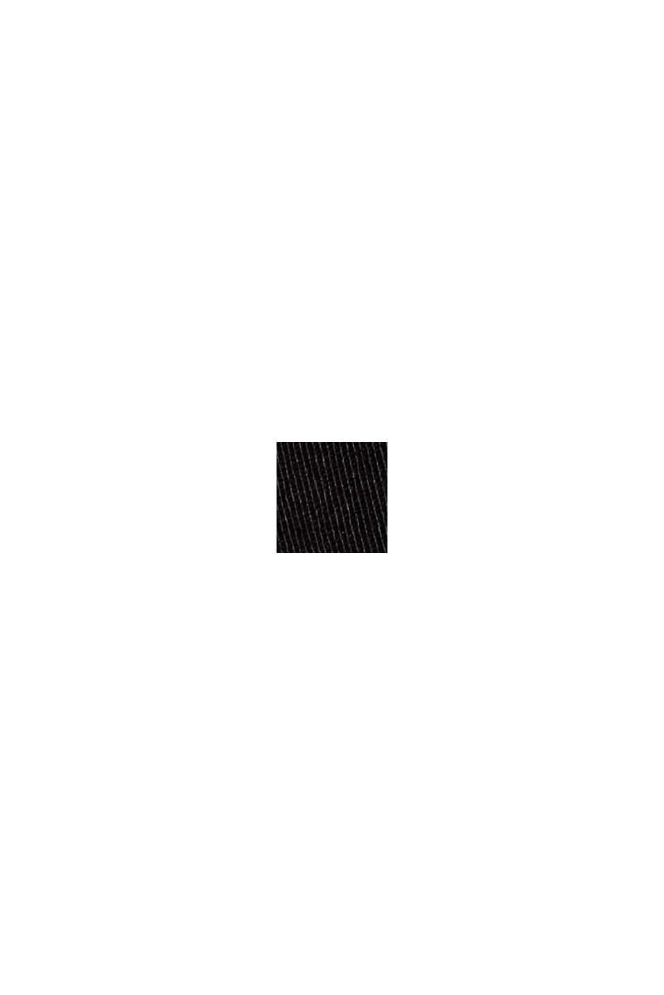 Bermudashorts af bomuldsstretch, BLACK, swatch