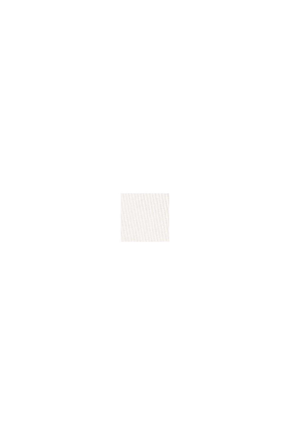 Bermudashorts af bomuldsstretch, OFF WHITE, swatch