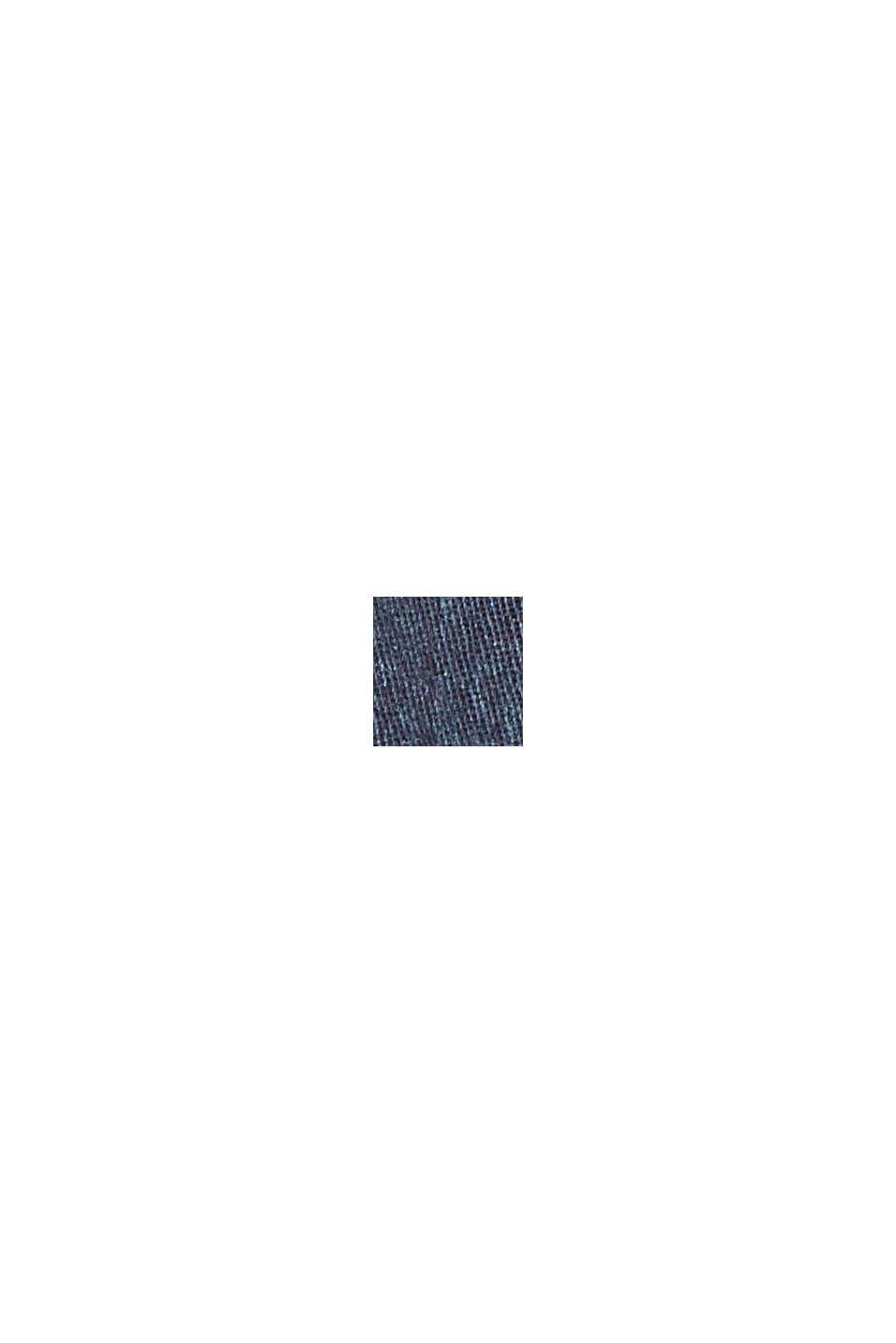Bermudashorts med print, i bomuldsstretch, NAVY, swatch
