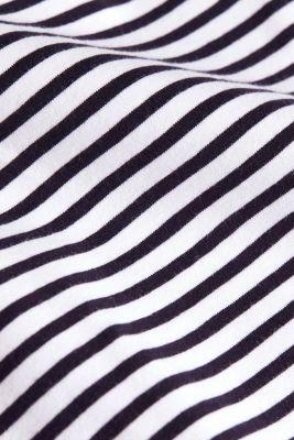 Jersey mini skirt made of organic cotton, WHITE, detail