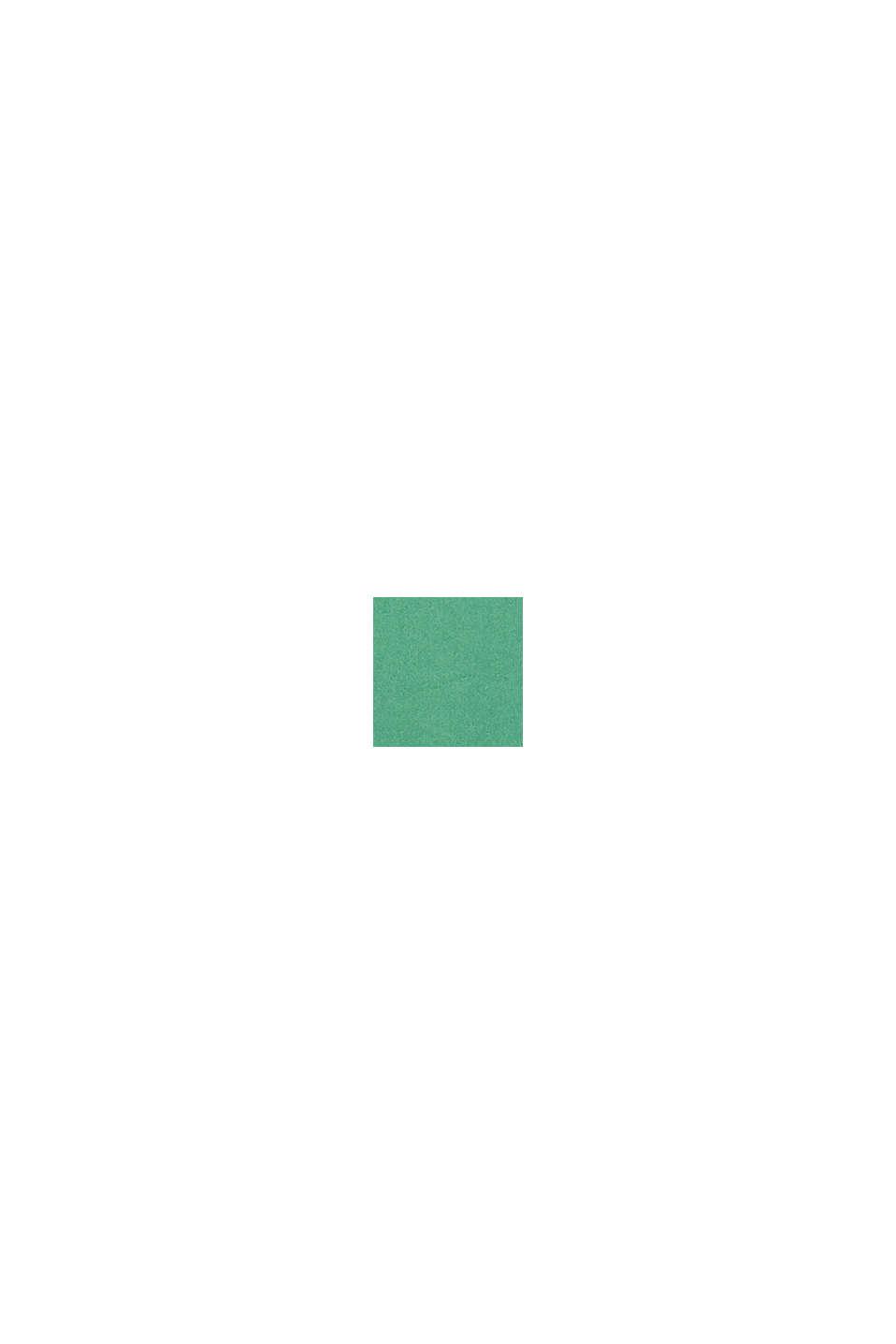 Web-Kleid mit Saum-Volant, GREEN, swatch