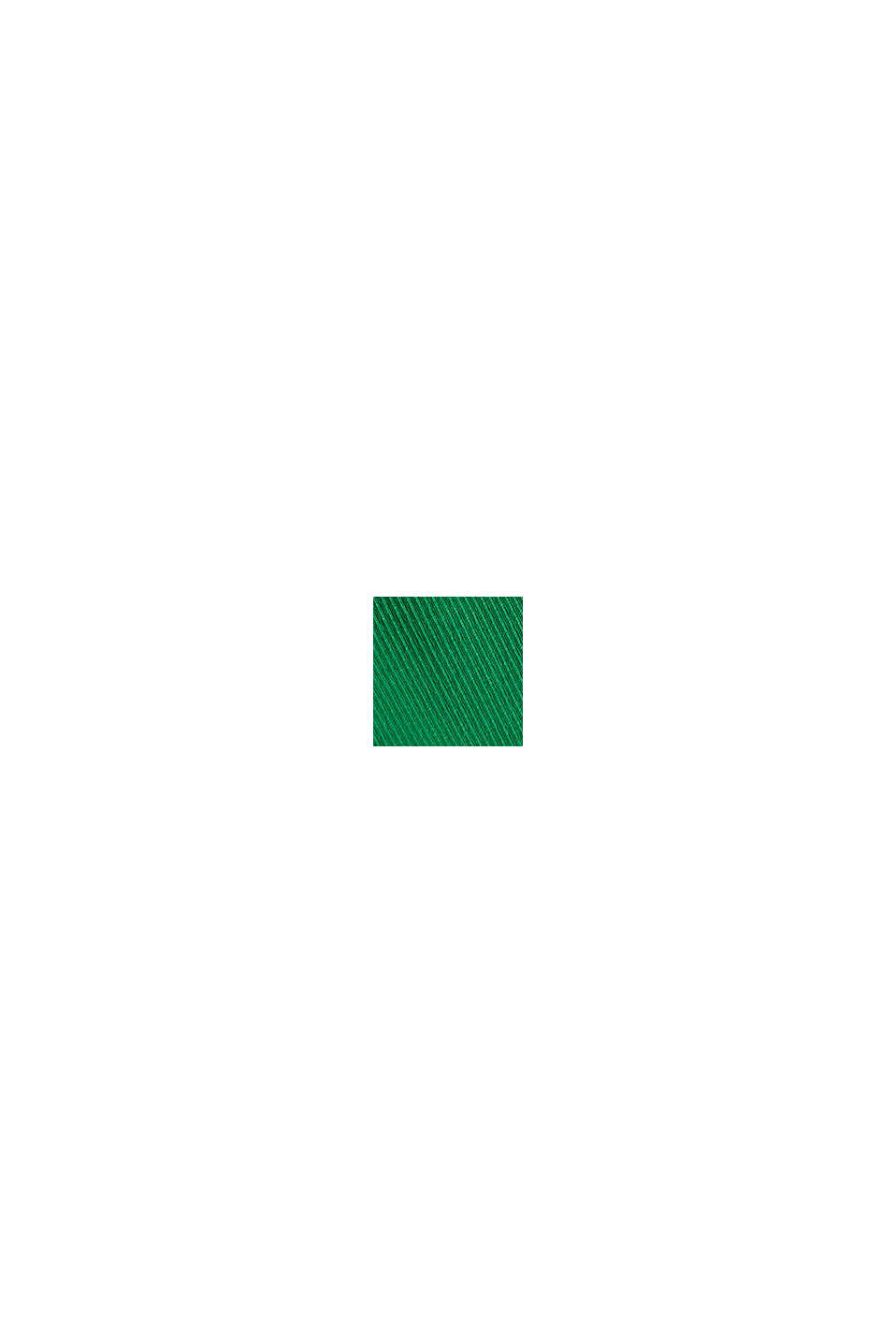 Mekko ribbijerseytä, GREEN, swatch