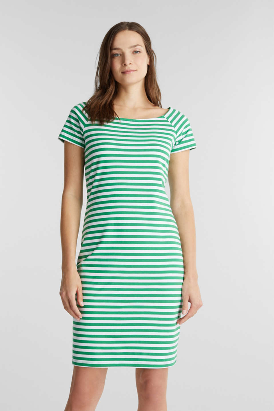 edc - Jersey-Kleid mit Organic Cotton