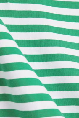 Jersey dress with organic cotton, GREEN, detail