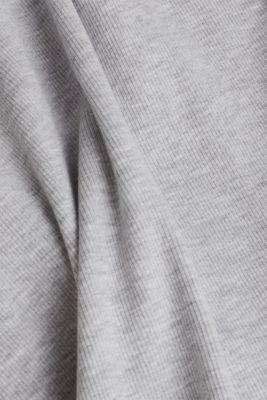 Ribbed jersey tank top dress, LIGHT GREY 5, detail