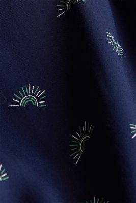 Maxi dress made of LENZING™ ECOVERO™, NAVY 4, detail