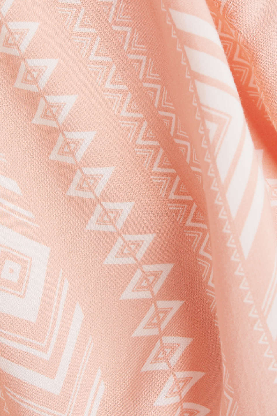 Print dress made of LENZING™ ECOVERO™, SALMON 4, detail image number 4