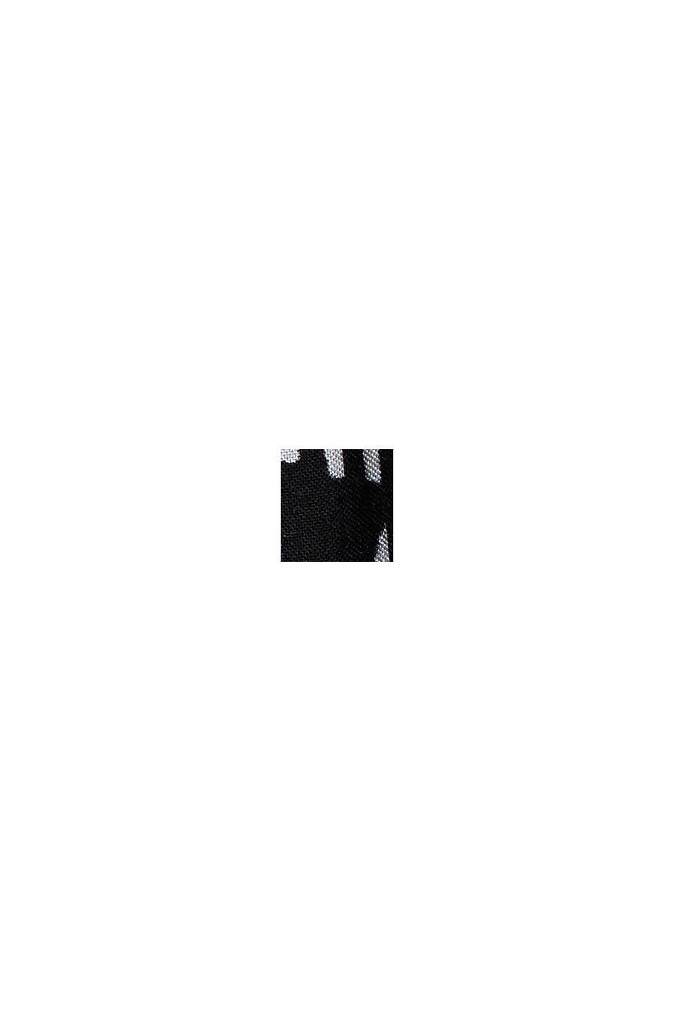 Stroptop med print, af LENZING™ ECOVERO™, BLACK, swatch