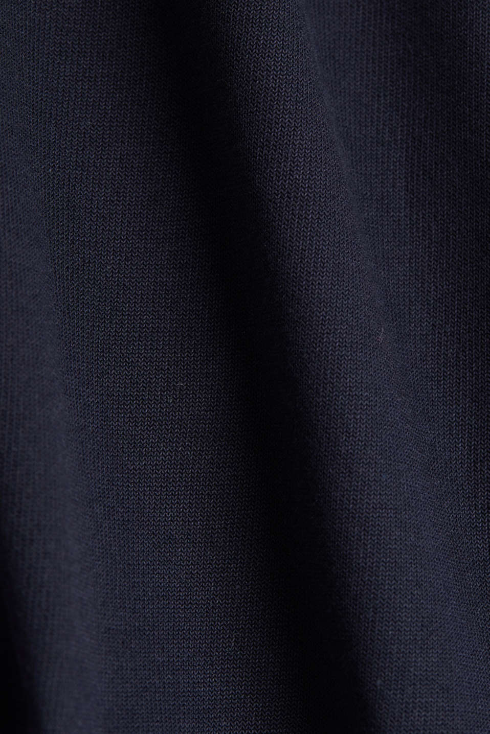 Short-sleeved sweatshirt with terry cloth, NAVY, detail image number 4