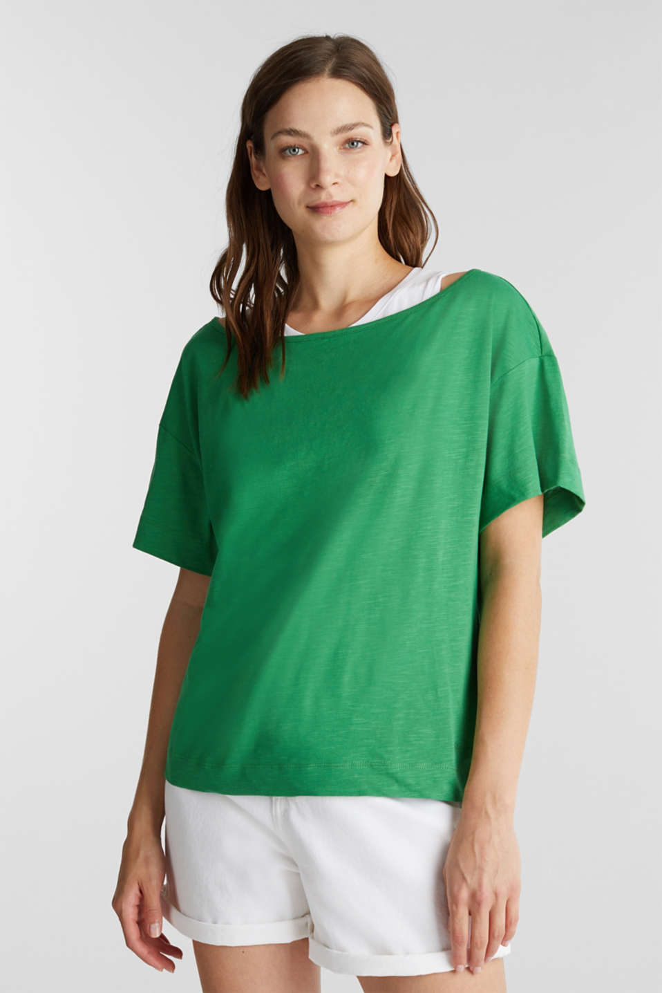 edc - Layered tops made of organic cotton