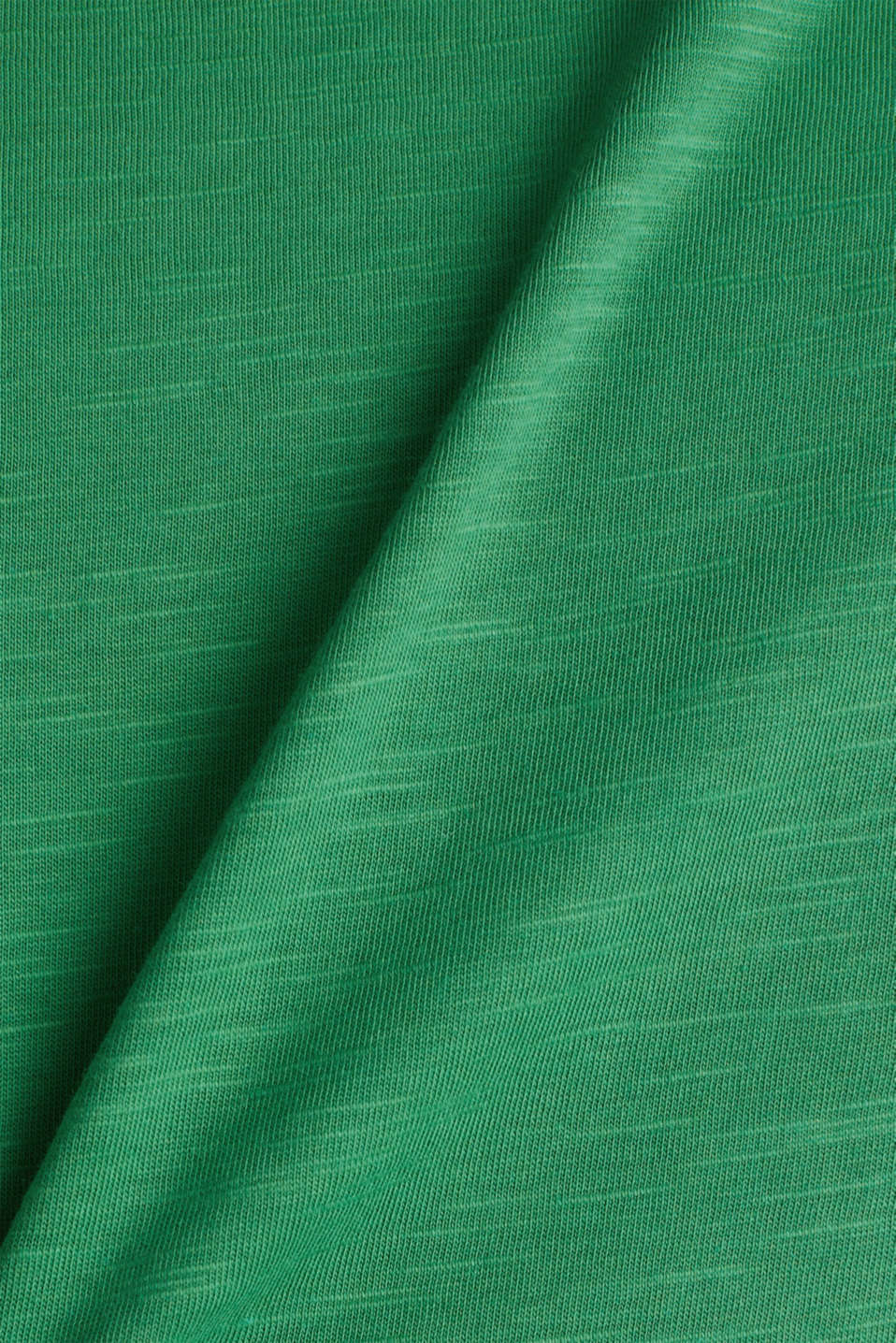 Layered tops made of organic cotton, GREEN, detail image number 4