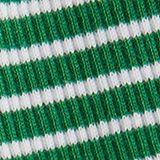 Top aus gestreiftem Ripp-Jersey, GREEN, swatch